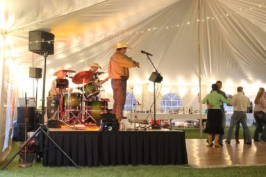 stage and dance floor rental wyoming