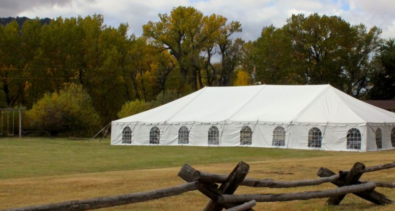 wedding reception tent centennial wyoming vee bar guest ranch & Are We the Right Tent Vendor for You? | Wyoming Tent u0026 Event Supply
