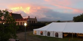 event tent rental wyoming