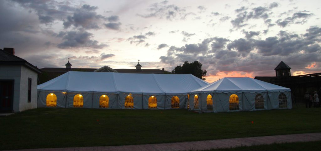wyoming tent rental