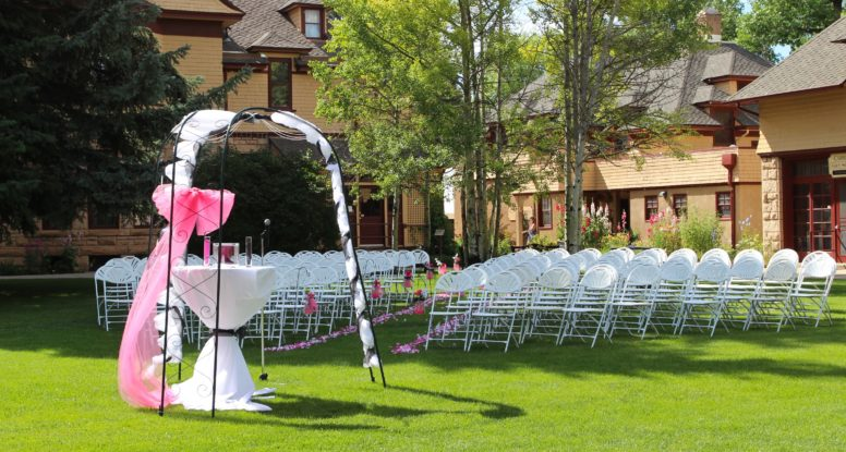 invinson mansion ceremony chairs